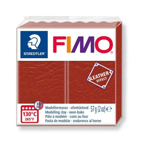 Fimo Effect leather 57 g roest 8010-749 (04-19)