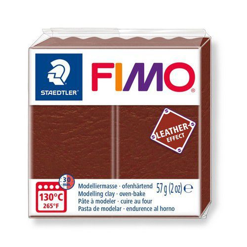 Fimo Effect leather 57 g noot 8010-779 (04-19)