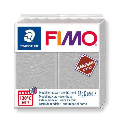 Fimo Effect leather 57 g duifgrijs 8010-809 (04-19)