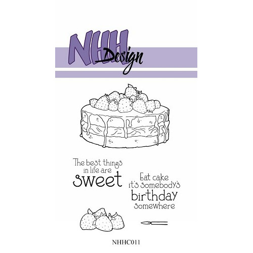 Clear Stamp Pretty cake
