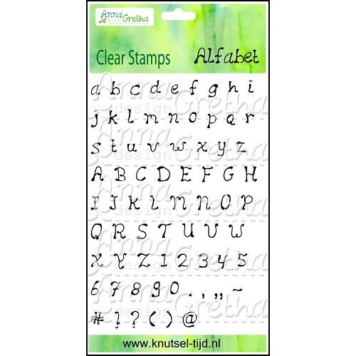 Stempelset Alfabet
