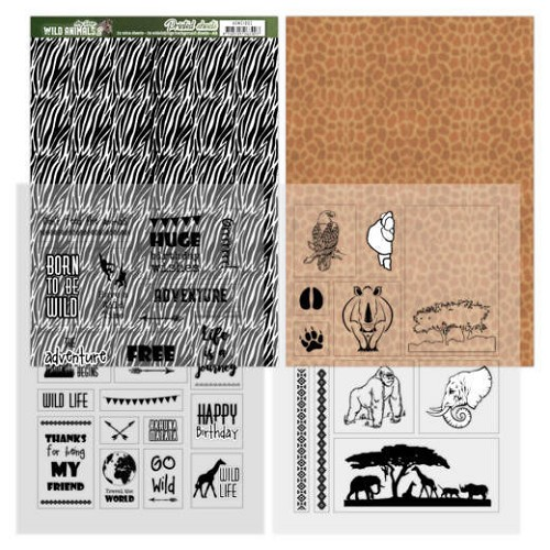 Sheets Zebra - Amy Design - Wild Animals 2