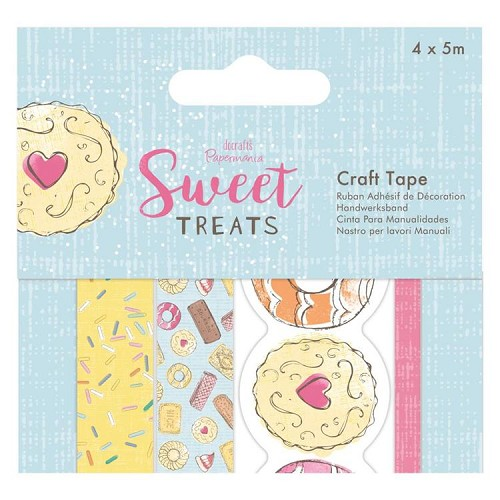Craft Tape (4 x 5m) - Sweet Treats