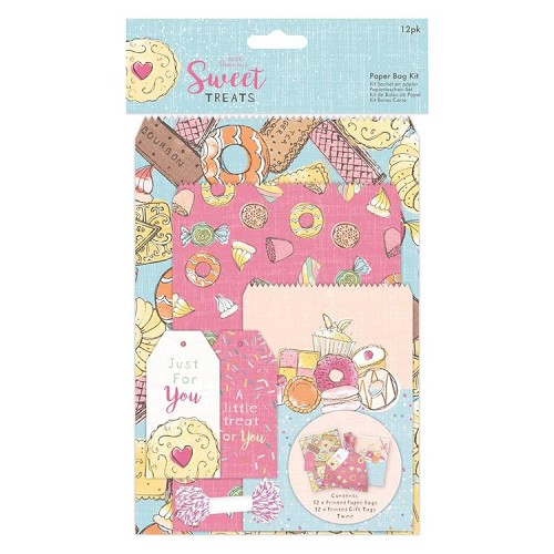 Paper Bag Kit (12pk) - Sweet Treats