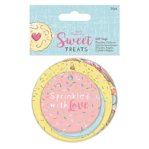 Gift Tags (20pk) - Sweet Treats