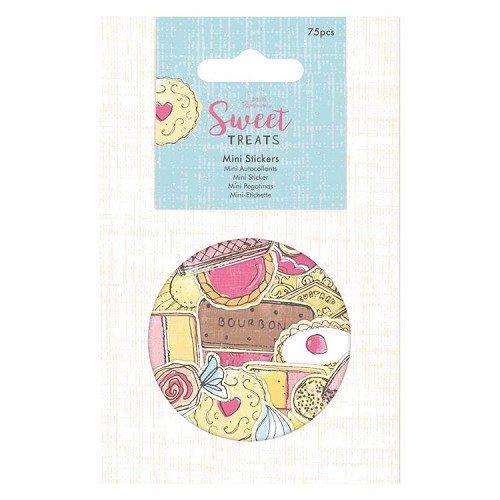 Mini Stickers (75pcs) - Sweet Treats
