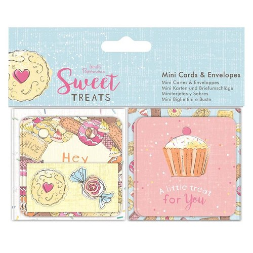Mini Cards & Envelopes (10pk) - Sweet Treats
