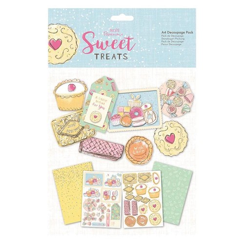 A4 Decoupage Pad - Sweet Treats