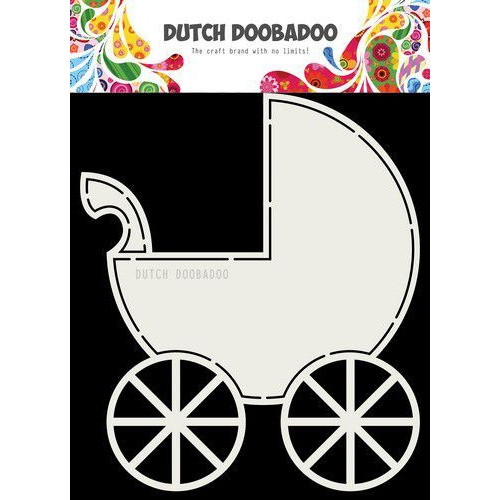 Dutch Doobadoo Card art Buggy 145 x 170mm 470.713.714 (05-19)