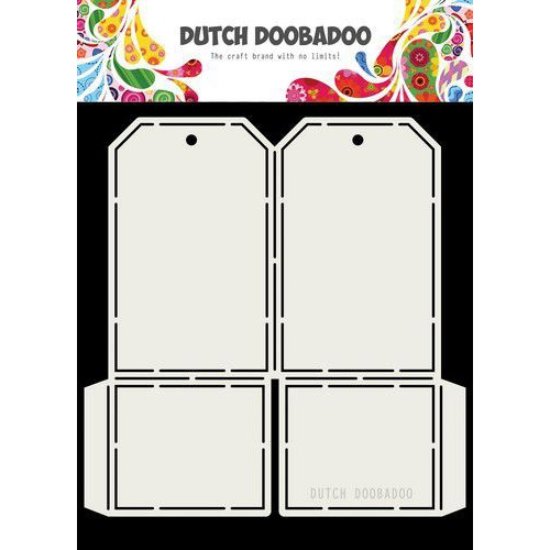 Dutch Doobadoo Card art label 148x155mm 470.713.715 (05-19)
