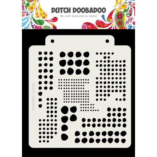 Dutch Doobadoo Dutch Mask Art Blobs 163x148mm 470.715.138 (05-19)