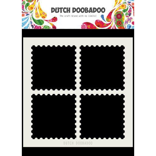 Dutch Doobadoo Dutch Mask Art 15x15cm postzegelranden 470.715.616 (05-19)