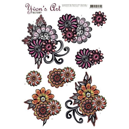 Yvon`s Art -Fantasy Flower Pink