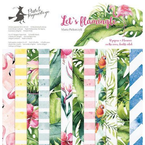 Piatek13 - Paper pad Let's flamingle 12 P13-276 12x12 (04-19)