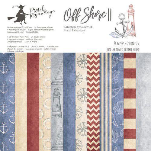 Piatek13 - Paper pad Off Shore II 6 P13-300 6x6 (04-19)