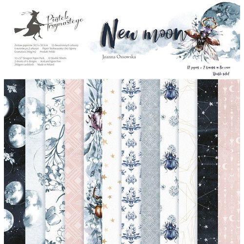 Piatek13 - Paper pad New moon 12 P13-358 12x12 (04-19)
