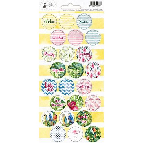 Piatek13 - Sticker sheet Party Let's flamingle 02 P13-291 10,5x23 cm (04-19)
