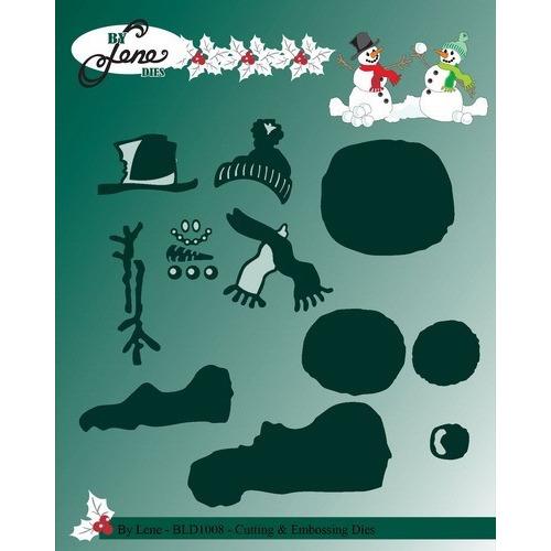 By Lene - Die - Snowman