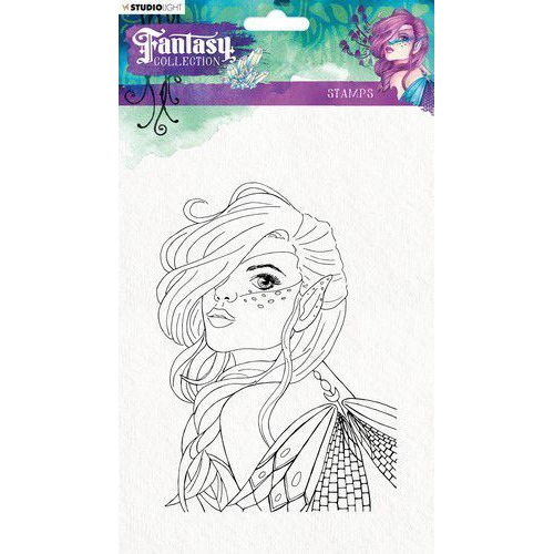 Studio Light Clearstempel A5 Fairy Fantasy Collection nr.372 STAMPFC372 (05-19)