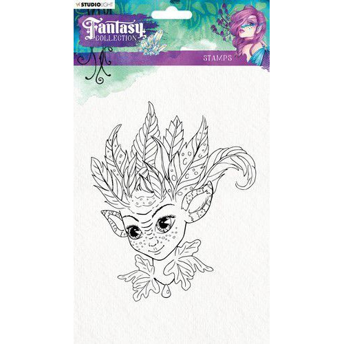 Studio Light Clearstempel A5 Fairy Fantasy Collection nr.374 STAMPFC374 (05-19)