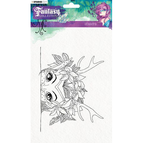Studio Light Clearstempel A5 Fairy Fantasy Collection nr.375 STAMPFC375 (05-19)