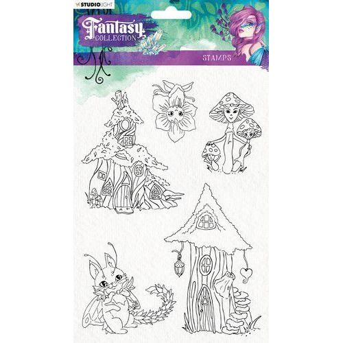 Studio Light Clearstempel A5 Element Fantasy Collection nr.376 STAMPFC376 (05-19)