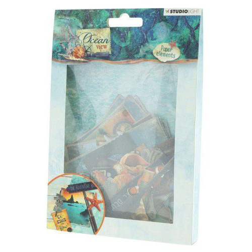 Studio Light Easy Die Cut Paper Set nr 649 Ocean View EASYOV649 (05-19)