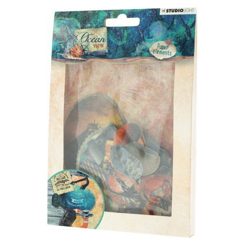 Studio Light Easy Die Cut Paper Set nr 650 Ocean View EASYOV650 (05-19)