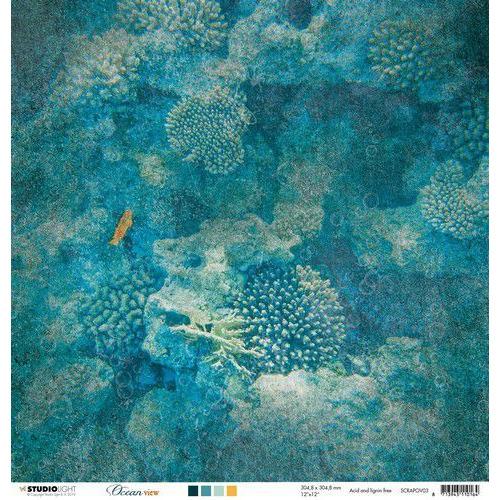 Studio Light Scrappapier 10 vel 30,5x30,5 Ocean View nr 03 SCRAPOV03 (05-19)