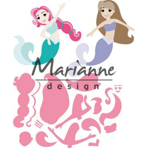 Marianne D Collectable Mermaids by Marleen COL1467 121x102,5 (06-19)