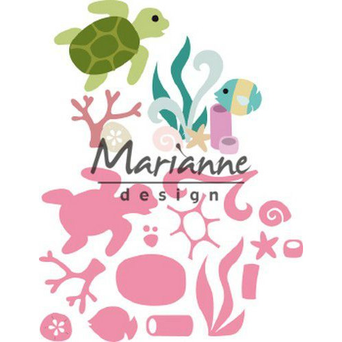Marianne D Collectable Sealife by Marleen COL1468 108x85,5 mm (06-19)