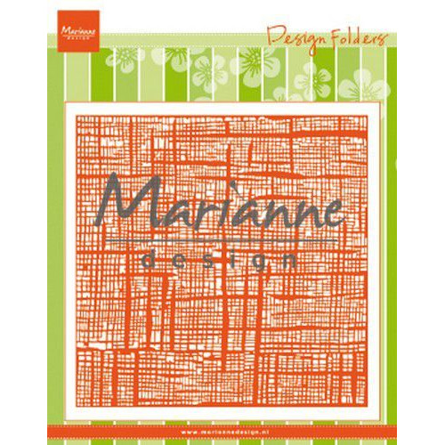 Marianne D Embossing folder Linnen DF3453 152x154 mm (06-19)