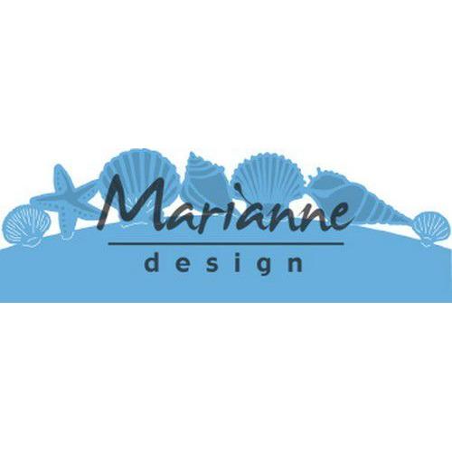 Marianne D Creatable zeeschelpenrand LR0601 135x30,5 mm (06-19)