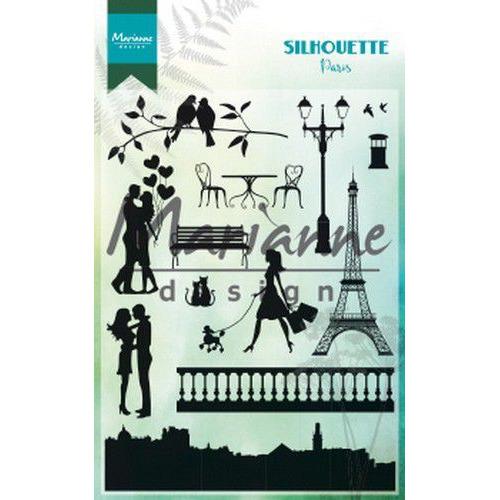 Marianne D Clear Stamps Silhouette Parijs CS1027 110x150 cm (06-19)