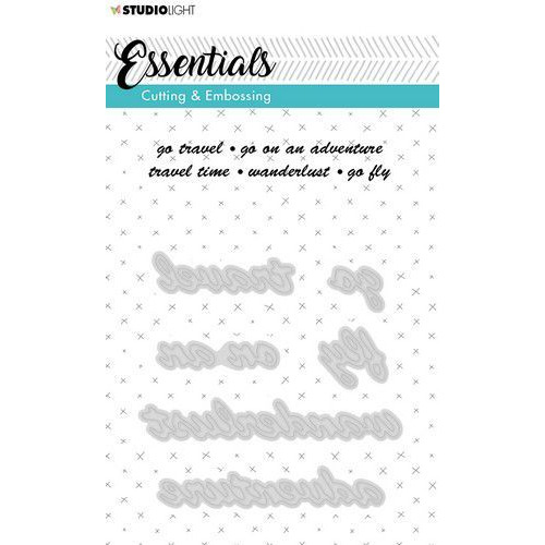 Studio Light Embossing Die Cut A6 Stencil Essentials nr.182 STENCILSL182 (06-19)