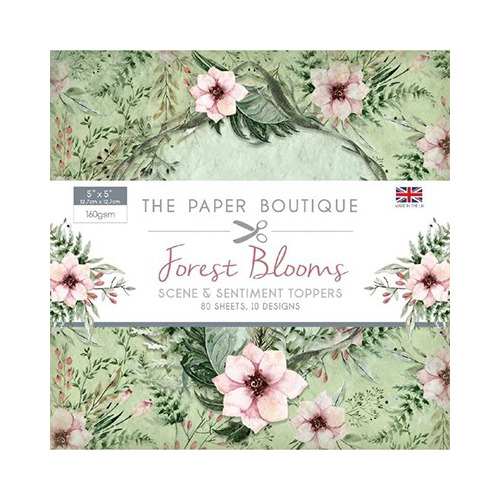 The Paper Boutique Forest Blooms Sentiments Pad