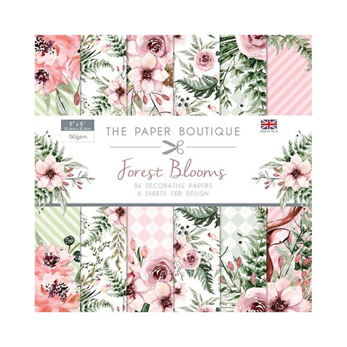 The Paper Boutique Forest Blooms Paper Pad