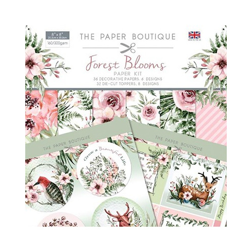 The Paper Boutique Forest Blooms Paper Kit