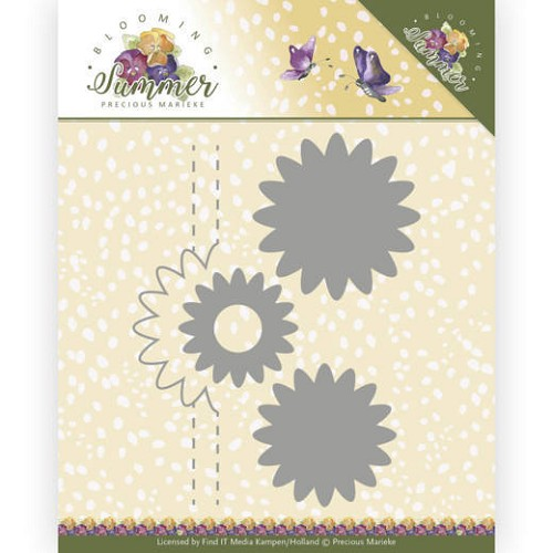 Dies - Precious Marieke - Blooming Summer - Pop-up Flower 1