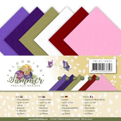 Linnenpakket - A5 - Precious Marieke - Blooming Summer