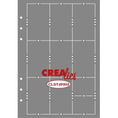 Crealies Journalzz & Pl Stencil Journaling Week Pagina A CLSTJP303 14,5 x 20,8 cm (05-19)