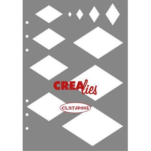 Crealies Journalzz & Pl Stencil decoratie wybers CLSTJP503 14,5 x 20,8 cm (05-19)