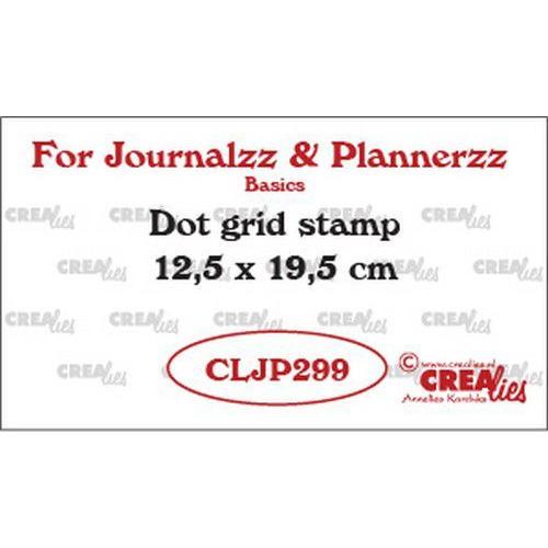 Crealies Journalzz & Pl Stempel Bulletjournaling Dot grid CLJP299 12,5 x 19,5 cm (05-19)