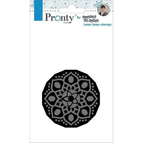 Pronty Foam stamp Mandala 1 494.905.001 by Jolanda (05-19)
