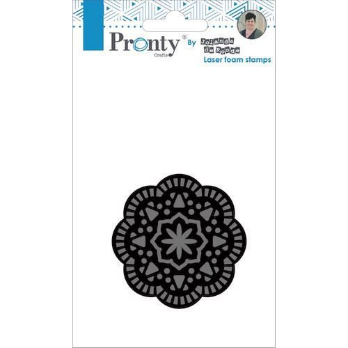 Pronty Foam stamp Mandala 2 494.905.002 by Jolanda (05-19)