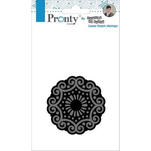 Pronty Foam stamp Mandala 3 494.905.003 by Jolanda (05-19)