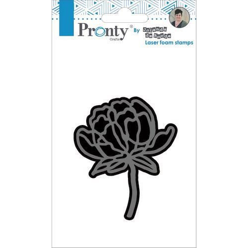 Pronty Foam stamp Flower 1 494.905.004 by Jolanda (05-19)