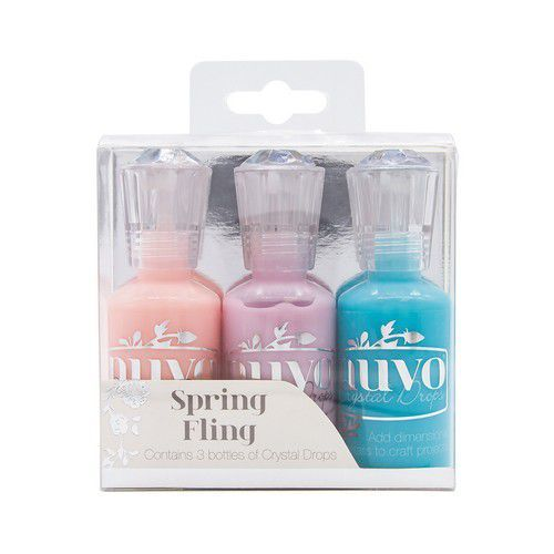 Nuvo Crystal Drops - 3 Pack Spring Fling 2003N (05-19)