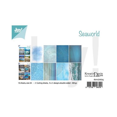 Knipvellen/Papierset Bille - Design Seaworld