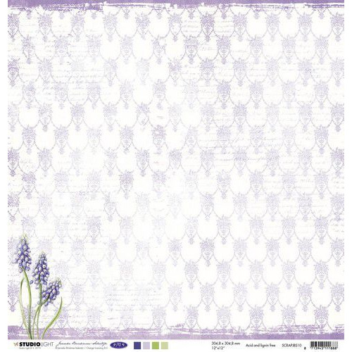 Studio Light Scrappapier 10 vel 30,5x30,5 Janneke Brinkman nr.10 SCRAPJBS10 (06-19)